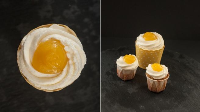 Ingwer-Orangen-Cupcake
